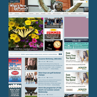 What`s New LaPorte- - Our community homepage