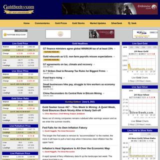 Homepage - GoldSeek