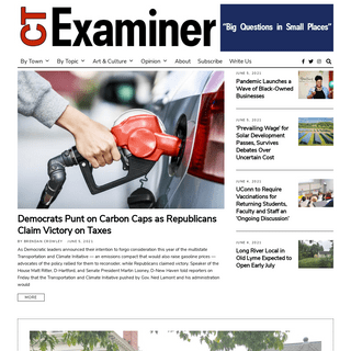 The Connecticut Examiner – Connecticut`s source for in-depth, nonpartisan news, based in Old Lyme and covering the region.