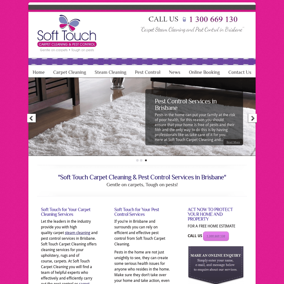 Soft Touch Carpet Cleaning