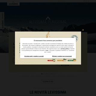 Levissima- Acqua Oligominerale Naturale, Frizzante e Issima