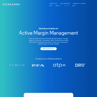 Homepage - OpenGamma Analytics - Capital efficiency - Lower trading costs