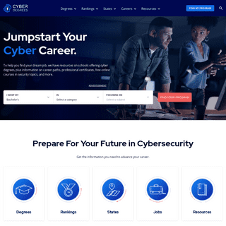 Cybersecurity Degrees - Cybersecurity Degrees Online