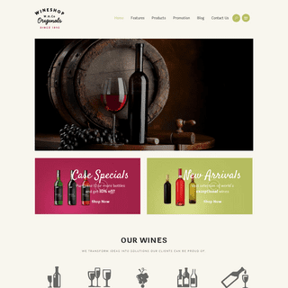 WineShop – Just another WordPress site