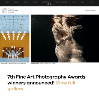 FAPA - Fine Art Photography Awards - First Fine Art Photography Contest - Home