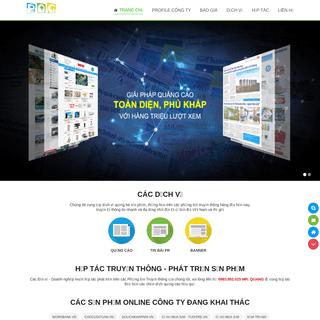 Quảng cáo báo giấy, quảng cáo trực tuyến - Truyền thông Phan Quang