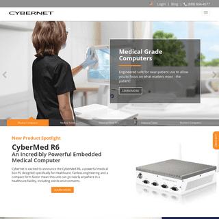 Medical PCs, Industrial PCs, Enterprise Computers - Cybernet