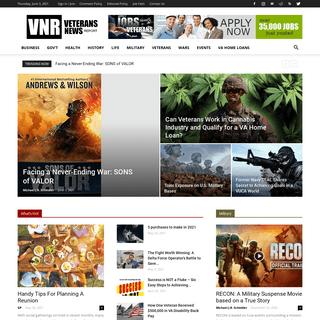 Veterans News Report – Media for U.S. Military Veterans