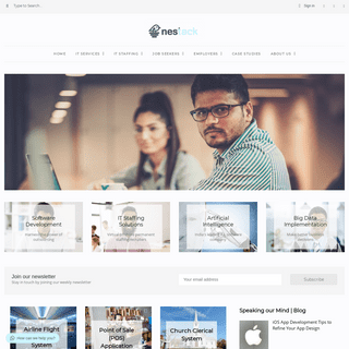 Nestack Technologies Pvt Ltd - Outsource to India