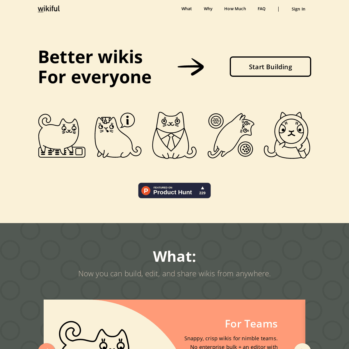 Wikiful – better wikis for everyone