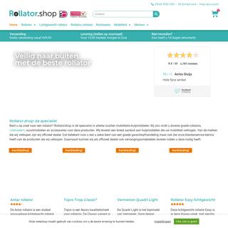Zoekt u een Rollator- Bestel een Rollator online!