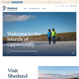 Shetland.org - Welcome to the Islands of Opportunity