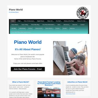 Home - Piano World