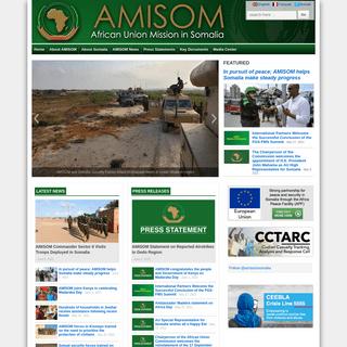 AMISOM - African Union Mission In Somalia - Peacekeeping Mission - Somalia