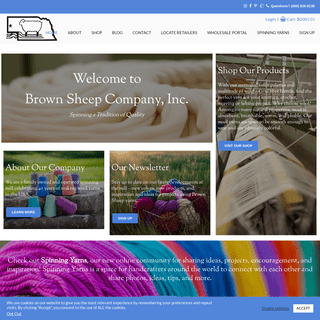 Brown Sheep Company, Inc. - Brown Sheep Company, Inc.