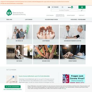 Willkommen am Portal der österreichischen Sozialversicherung