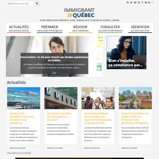 Immigrant Quebec - Immigrant Québec