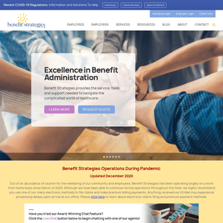 Benefit Strategies - Employee Benefits Third Party Administration