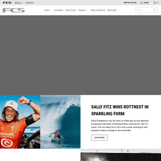 FCS USA- Surfboard Fins, Covers, Traction, Leashes, Surf Accessories