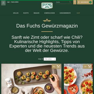 Das Fuchs Gewürzmagazin - fuchs.de