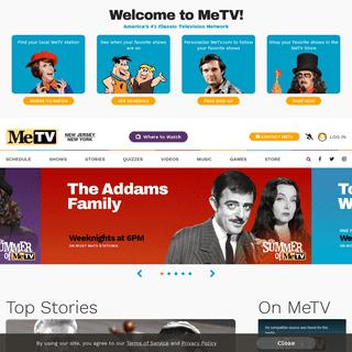 MeTV – America`s #1 Classic Television Network