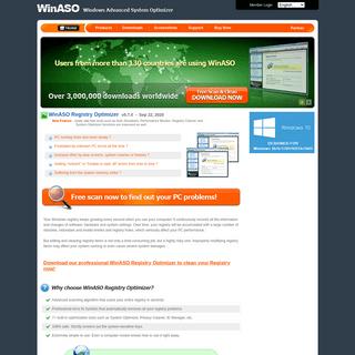 Windows Advanced System Optimizer - Best Registry Optimizer, Disk Cleaner for PC optimization