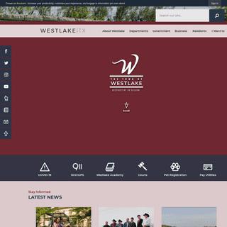 Westlake, TX - Official Website - Official Website