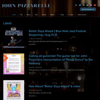 John Pizzarelli Official Website - Home