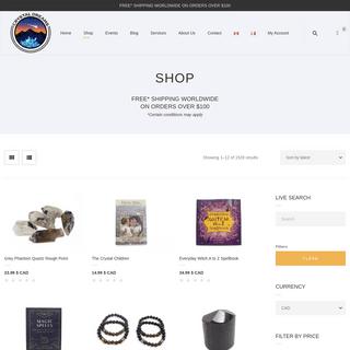 Shop for crystals and gemstones - Crystal Dreams World