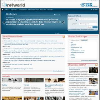 Refworld - El líder en apoyo para la toma de decisiones sobre refugiados