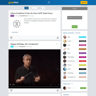 Grepless - Discover what`s new on the web
