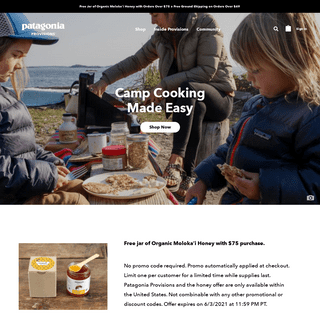 Delicious, Sustainable Food & Recipes - Patagonia Provisions