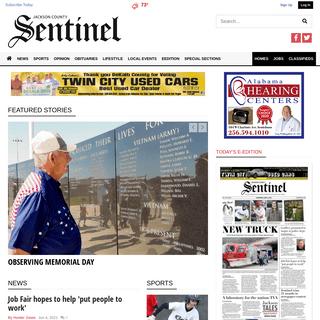 jcsentinel.com - Jackson County`s news leader since 1887