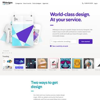 Logos, Web, Graphic Design & More. - 99designs
