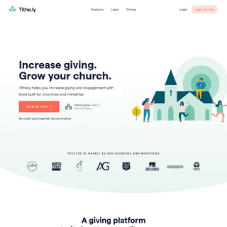 Church Giving- Mobile App, Online & Text Giving for Churches - Tithe.ly