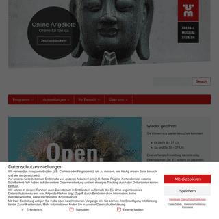 Start · Übersee-Museum Bremen