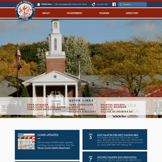 Official Town of Palmyra NY Website