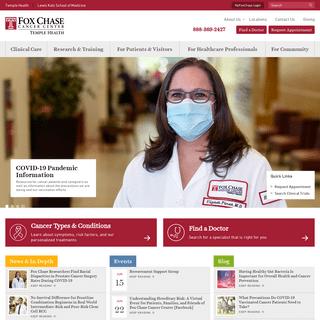 Fox Chase Cancer Center - Philadelphia, PA -