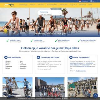 Fietsen op je vakantie doe je met Baja Bikes - 200+ Bestemmingen