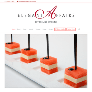 Full Service Off-Premise Catering Services - Elegant Affairs New York