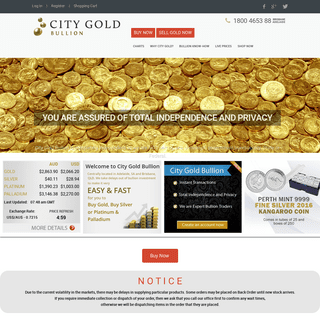 City Gold Bullion