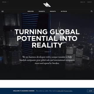 Start page - Business Sweden