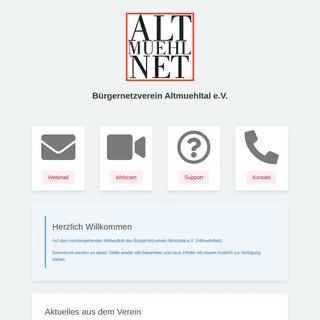 AltmuehlNet - Bürgernetzverein Altmühltal e.V.