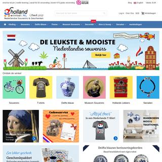 De Holland Winkel - Geschenken met betekenis - Souvenirs kopen bij HollandWinkel.NL
