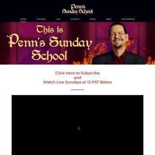 Penns Sunday School – Penn`s Sunday School