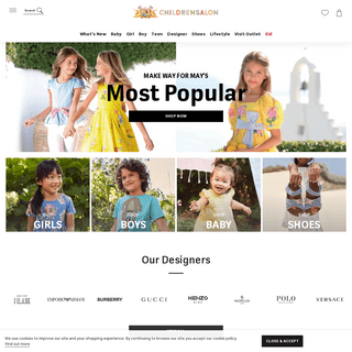 Kids Designer Clothes - Childrensalon