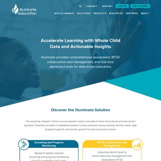 Illuminate Education - Addressing the Whole Child