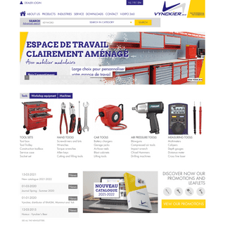 Vynckier Tools - Tools - Equipment - Machines