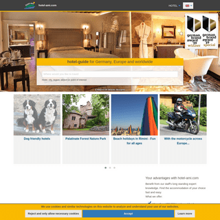 hotel-ami.com - hotelguide- Search and find hotels in Germany, Europe and world-wide.