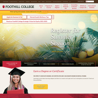 Foothill College - Home
